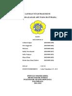 246724598 Laporan Tetap Praktikum Analisa Kadar Abu Batubara
