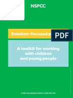 Solution Focused Practice Toolkit