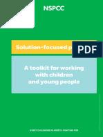 Solution Focused Practice Toolkit