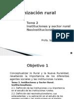Presentación del Tema 2 Org. Rural - Parte 1 con audio