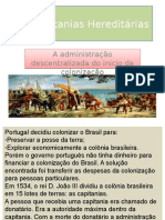 As Capitanias Hereditárias.ppt