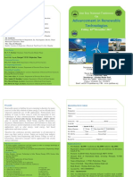 Advances in Renewable Technology  Seminar 22Dec.2017_Broucher