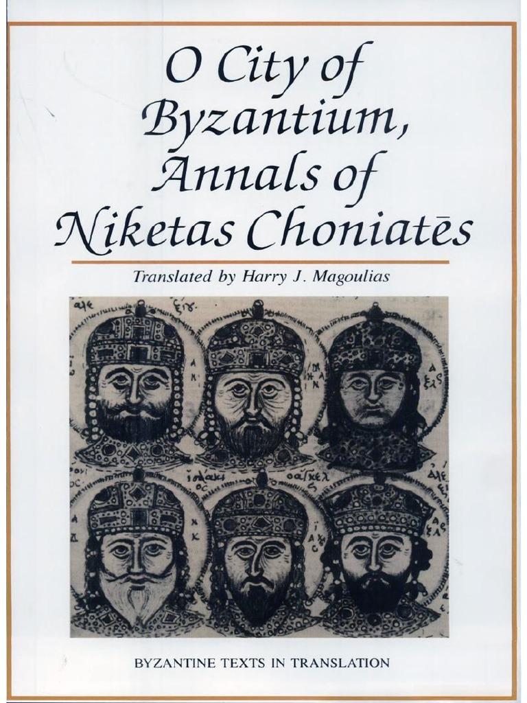 City-of-Byzantium-Annals-of-Niketas-Choniates.pdf | Byzantine Empire | Icon