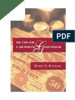 En Defensa de Un Dólar Cien Por Cien Oro