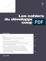 Les cahiers du développement coopératif