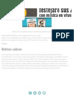 Motivos Sobran _ Página12 _ La Otra Mirada