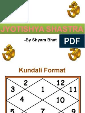 Jyotishya Shastra basics revision | Planets In Astrology