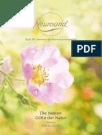 Neumond Oli Essenziali Catalogo