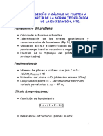 Diseño y Cálculo de Pilotes