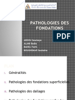 Pathologies Fondations