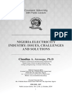 Historical Analysis of Nigeria Power