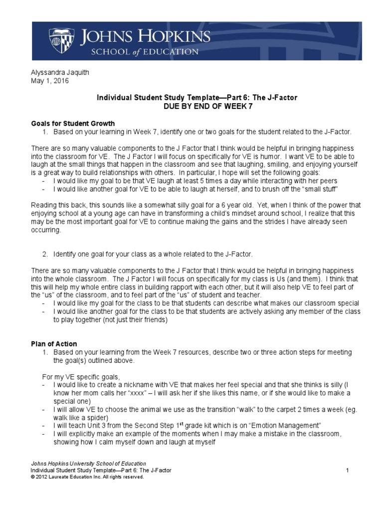 Studytemplate Part6 Ajaquith Classroom Management Self Improvement