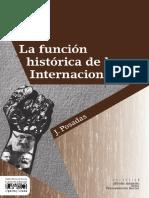 J.posaDAS. La Funcion Historica de Las Trasnacionales