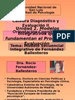 Modelo Secuencial Integrativo de Fernández Ballesteros