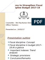 Measures to Strengthen Fiscal Discipline