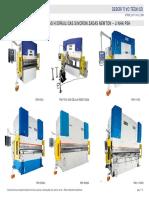 Prensas Dobradeiras NEWTON Descritivo Linha PSH Custom 20111014 SCR-995