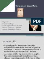 Pensamiento Complejo de Edgar Morín (1)