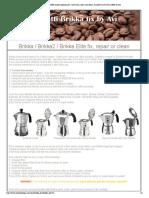 Bialetti Brikka coffee maker espresso pot - how to fix, clean and repair.pdf