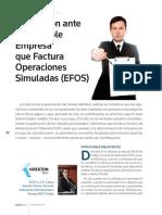 Prevencion Ante Una Posible Empresa Que Factura Operaciones Simuladas (Efos)