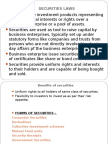 Securities Law - Insider Trading