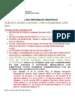 Ejercicios Integrales Multiples Para Los Alumnos Marzo 2016 Periodo Unico 2015