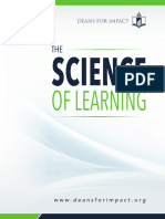 The Science of Learning Deans for Learning