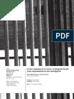 Un Día Cualquiera en La Cárcel La Etnografía Ficción