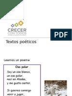 Presentación Textos poéticos