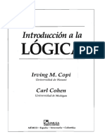 Copi Irving - Introducción a La Lógica Cap 1 Introduccion (1)