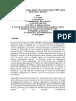 La Utilización de La Prueba de Ácido Desoxirribonucleico