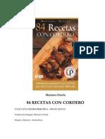 Orzola Mariano - 84 Recetas Con Cordero