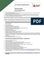 Guía Cobro de Subsidios Familiar de Vivienda–No Afiliados