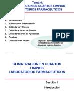 Tema 6 - Climatizacion en Cuartos Limpios.ppt