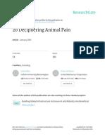 Allen Et Al 2005 Deciphering Animal Pain