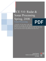Sonar Processing Project n