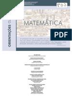 Matemática Orientações Curriculares 2016