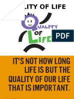 quality of life ppt