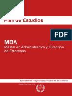 Plan de Estudios - MBA - Máster en Administ     ración y Dirección de Empresas.pdf