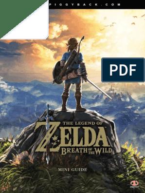Miniguide The Legend Of Zelda Breath Of The Wild The