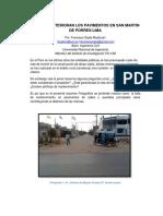 Como Se Deterioran Los Pavimentos e Zonas Urbanas