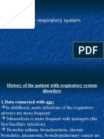 Medical Semiology Respiratory System