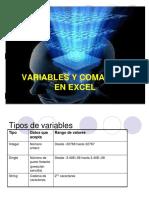 Variables y Comandos