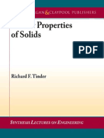 Tinder, r. f. (2008). Tensor Properties of Solids