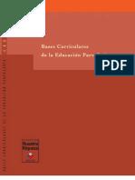 Bases Curriculares de La Educacion Parvularia