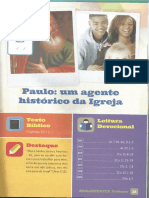 Lição 4 - Paulo - Um Agente Histórico Da Igreja