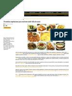 75 Receitas Vegetarianas Para Você Nem Sentir Falta de Carne _ COZINHANDO PARA 2 OU 1