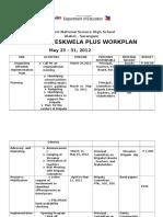 brigada eskwela  workplan