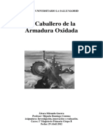 elcaballerodelaarmaduraoxidada-120514152859-phpapp02
