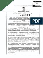 Decreto 348 Del 01 de Marzo de 2017