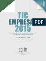 TIC Empresas 2015